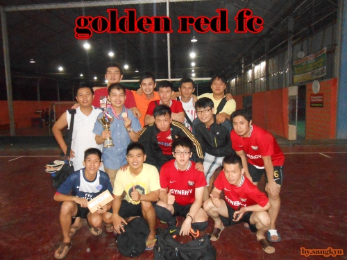 golden red